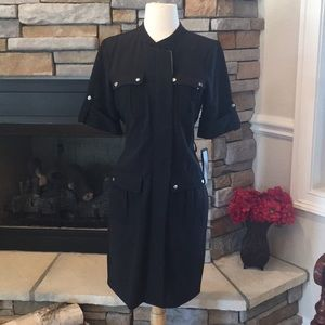 Dresses & Skirts - Black Zip Up Dress